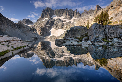 Minarets and Iceberg Lake Inyo National Forest, California. Copyright © 2012 All rights reserved.