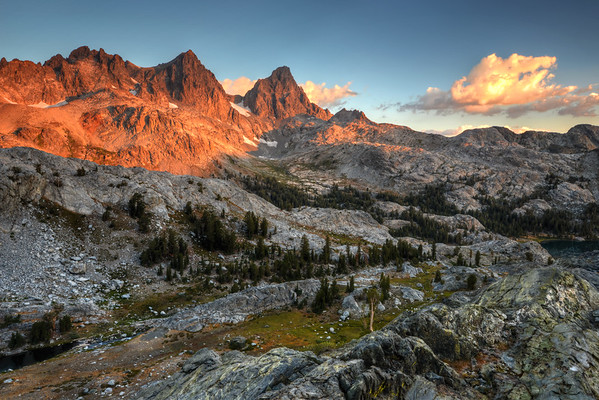 Banner and Ritter Morning Inyo National Forest, California. Copyright © 2012 All rights reserved.