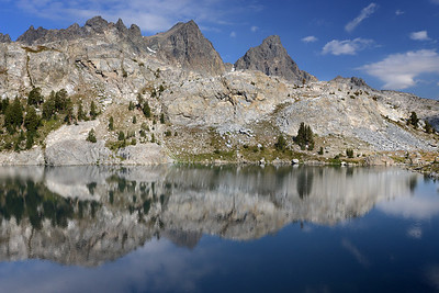 Reflections in Iceberg Lake Inyo National Forest, California. Copyright © 2012 All rights reserved.
