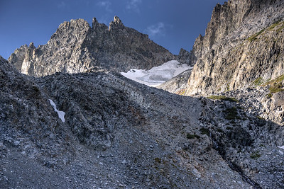 The Pass to Cecile Lake From Iceberg Lake Inyo National Forest, California. Copyright © 2012 All rights reserved.