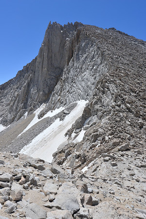 Merriam Peak From Royce Inyo National Forest, California. Copyright © 2012 All rights reserved