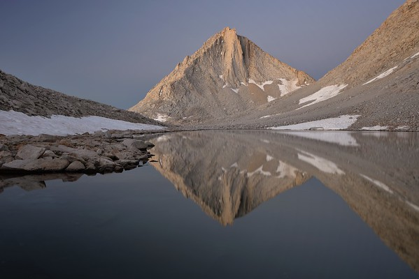 Merriam Peak (Dawn)  Inyo National Forest, California. Copyright © 2012 All rights reserved