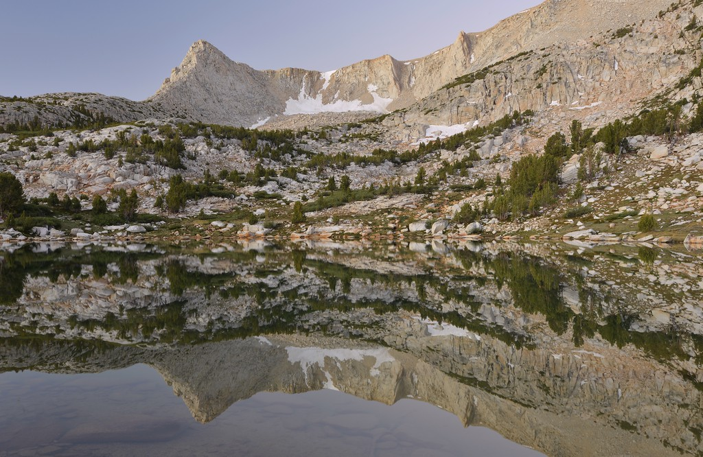 Morning Reflections in Golden Lake Inyo National Forest, California. Copyright © 2012 All rights reserved