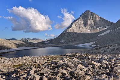 Merriam Peak and Royce Lake