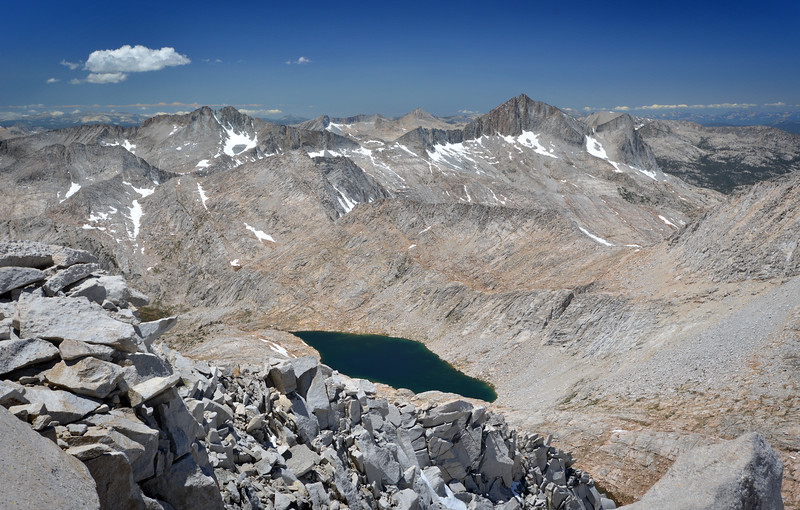 Northeast from the Royce Summit Inyo National Forest, California. Copyright © 2012 All rights reserved