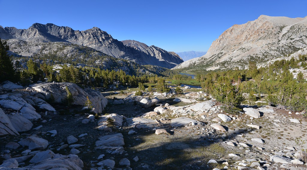 A Look Back at Pine Creek Inyo National Forest, California. Copyright © 2012 All rights reserved