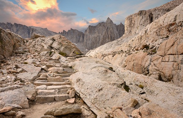 Stairway to Mount Muir Inyo National Forest, California. Copyright © 2012 All rights reserved.