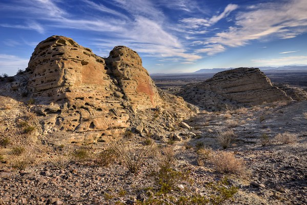 Above Palm Wash in Calcite Canyon Anza-Borrego Desert State Park, California.  Copyright © 2012 All rights reserved.