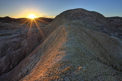 Sunset in the Arroyo Salado Wash Anza-Borrego Desert State Park, California.  Copyright © 2012 All rights reserved.