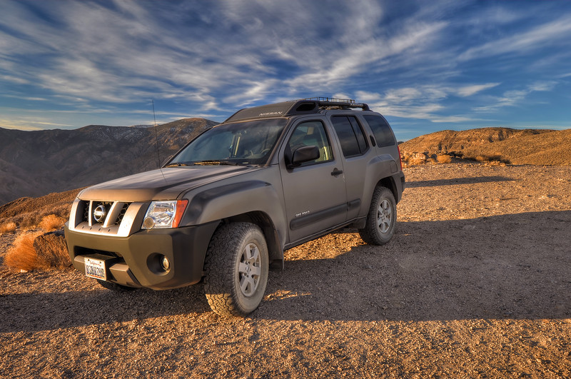 Xterra at Aguereberry Point Death Valley National Park, California. Copyright © 2012 All rights reserved.