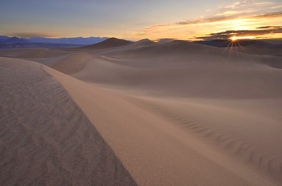 Stovepipe Wells Dunes (Sunrise) Death Valley National Park, California. Copyright © 2012 All rights reserved.