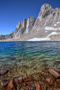 Mount Whitney and Iceberg Lake Inyo National Forest, California.  Copyright © 2012 All rights reserved.