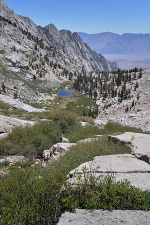 Lower Boyscout Lake and the North Fork of Lone Pine Inyo National Forest, California.  Copyright © 2012 All rights reserved.