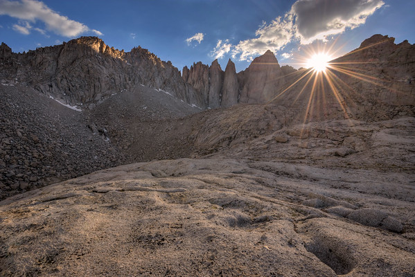 Sunset over Mount Whitney Inyo National Forest, California.  Copyright © 2012 All rights reserved.