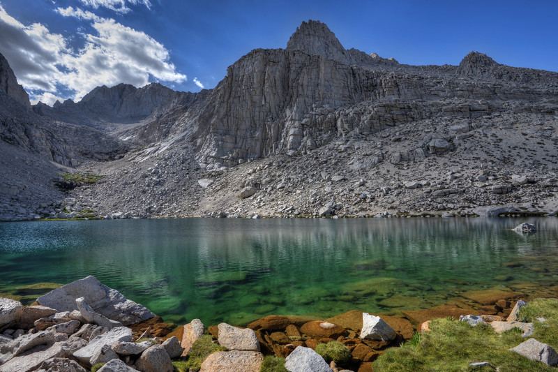 Upper Boyscout Lake Inyo National Forest, California.  Copyright © 2012 All rights reserved.