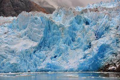 South Sawyer Glacier Up Close