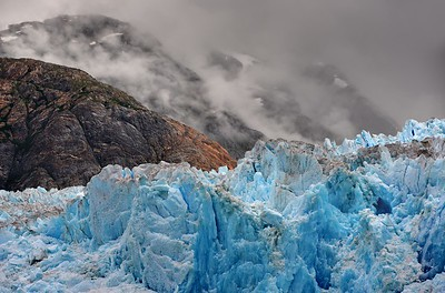 South Sawyer Glacier Tongass National Forest, Alaska. Copyright © 2013 All rights reserved.