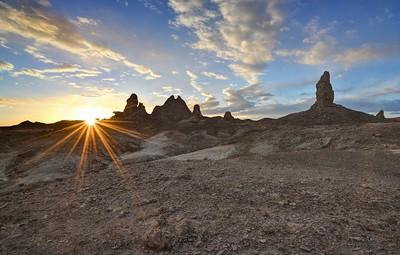 Trona Pinnacles Sunset