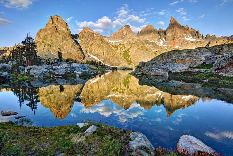 Reflections in Minaret Lake