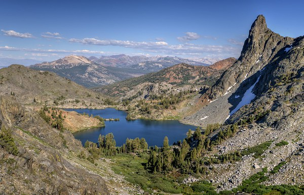 Minaret Lake and Mammoth Country