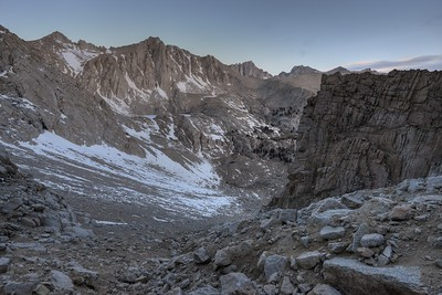 Climbing the south chute Inyo National Forest, California.  Copyright © 2013 All rights reserved.