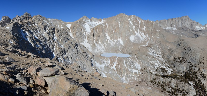 Pano of the Upper Meysan Basin<br /> Inyo National Forest, California.<br /> <br /> Copyright © 2013<br /> All rights reserved.