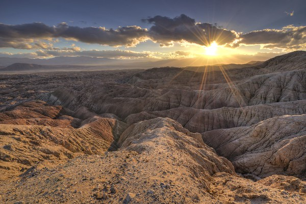 Sunset From Vista Del Malpais
