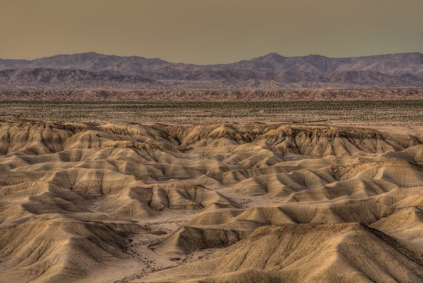 Fish Creek Mountain Area.  Anza-Borrego Desert State Park, California. Copyright © 2013 All rights reserved.