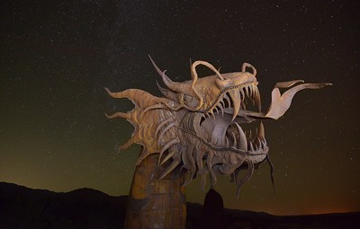 The Dragon Borrego Springs, California. Copyright © 2013 All rights reserved.