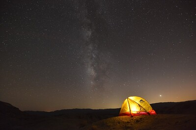 Tent at Inspiration Point Anza-Borrego Desert State Park, California. Copyright © 2013 All rights reserved.