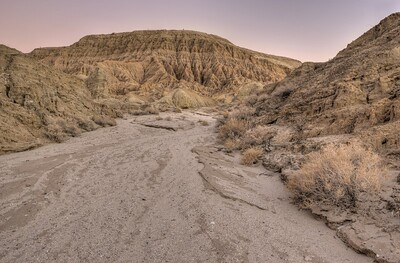 Tributary Wash Near Inspiration Point  Anza-Borrego Desert State Park, California. Copyright © 2013 All rights reserved.