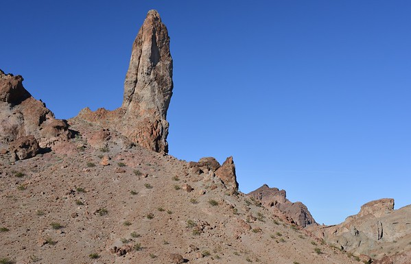 Picacho Peak Wilderness, California Copyright © 2013 All rights reserved.