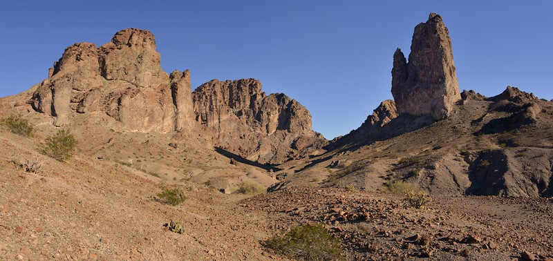 Picacho Peak<br /> Picacho Peak Wilderness, California<br /> Copyright © 2013 All rights reserved.
