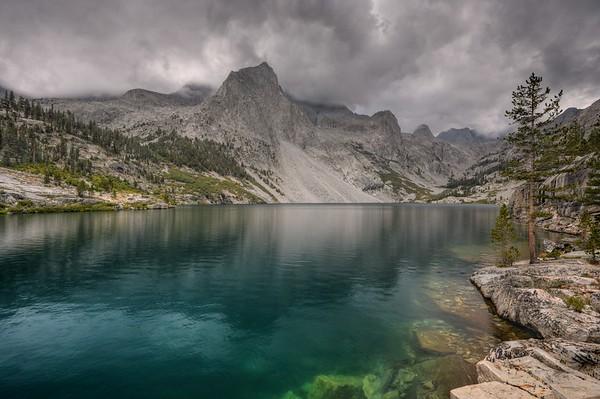 Lake Reflection and Mount Jordan