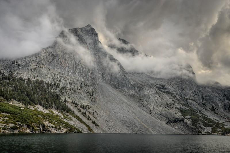 Clouds and Mount Jordan