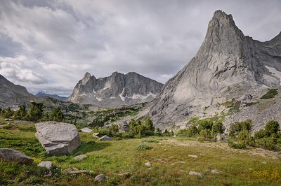 Pingora Peak and Warbonnet Peak