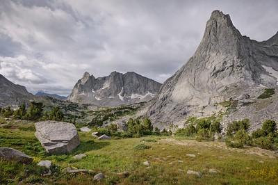 Pingora Peak and Warbonnet Peak
