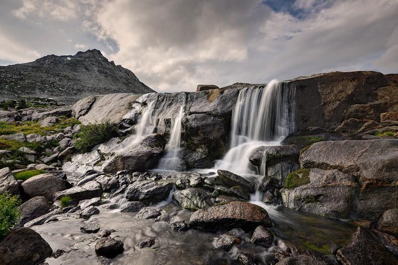 Falls in Upper Washakie Creek