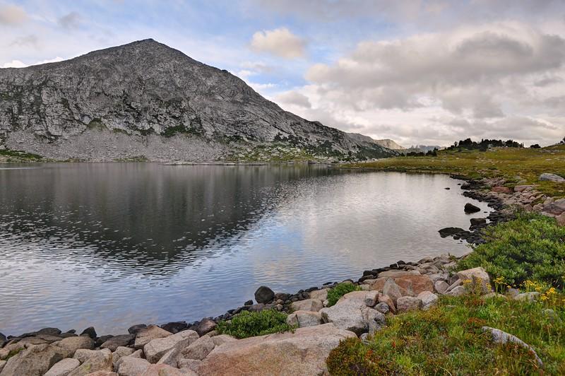Pyramid Lake and Peak