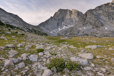 Temple Pass and Temple Peak