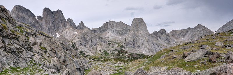 Cirque of the Towers Panorama