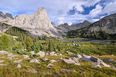 Lonesome Lake and Pingora Peak