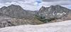Panorama of Mitchell Peak and Pingora Peak