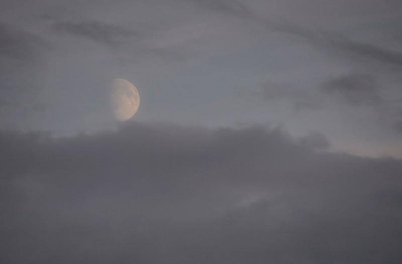 Moon Above Skagway