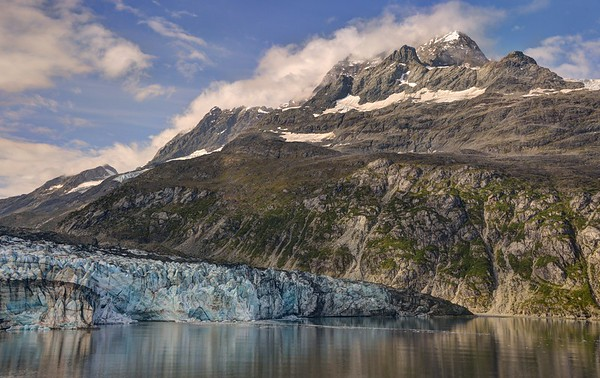 Mount Cooper and the Lamplugh Glacier
