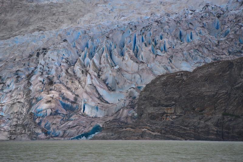 The Mendenhall Glacier Up Close