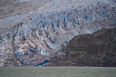 The Mendenhall Glacier Up Close