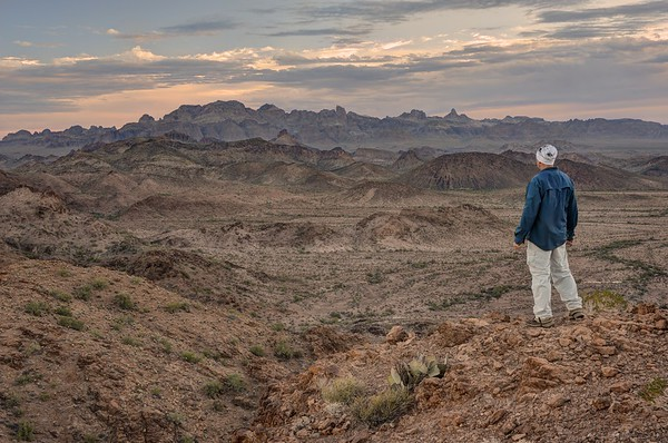 The Kofa Big Mountains From a Distance