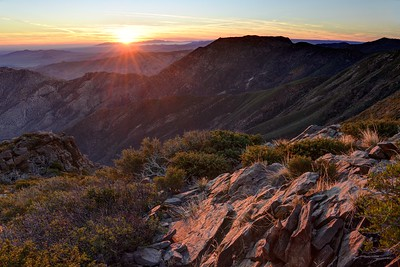 Monument Peak Sunrise
