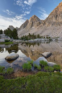 Kearsarge Pinnacles Reflection